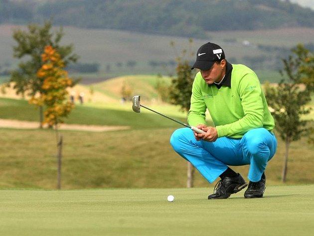 Finálový golfový turnaj české profesionální túry v resortu Kaskáda u Kuřimi.