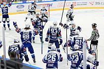 Hokejisté Komety vyhráli čtvrtou partii předkola play-off s Vítkovicemi.