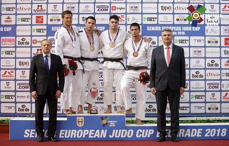Královopolští judisté řádili na Evropském poháru. Vezou dvě medaile