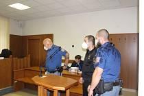 Obžalovaný Milan Švancara před soudem.