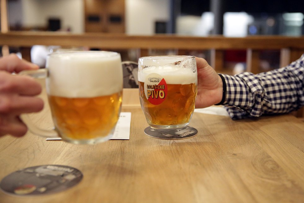 Pivovarský dům Poupě v ulici Dominikánská v centru Brna otevřel.