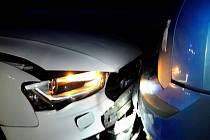 Šest aut se srazilo v pátek odpoledne na 206. kilometru dálnice D1 u Podolí na Brněnsku ve směru na Vyškov.