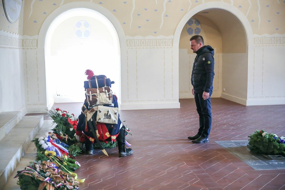 Připomínka 215. výročí Bitvy u Slavkova online. Foto: Archiv Městského úřadu Slavkov u Brna
