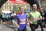 Pátý ročník Brněnského půlmaratonu.