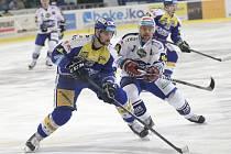Brněnští hokejisté prohráli v závěrečném kole extraligy doma se Zlínem 2:4.