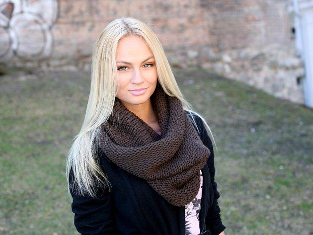 Bývalá volejbalistka a současná modelka Tereza Fajksová.