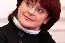 Herečka Tatjana Medvecká.