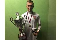 Mostecký záložník Jakub Chábera poprvé navlékl reprezentační dres a hned se stal nejlepším hráčem Evropského poháru v malém fotbalu do 21 let.
