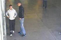 Policisté pátrají po této dvojici, která surově zbila muže v brněnské ulici Terezy Novákové.