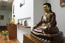Den otevřených dveří v brněnském centru Buddhismus diamantové cesty.