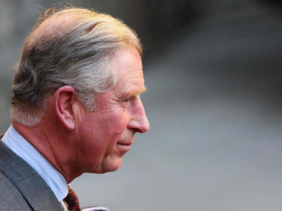 Odjezd prince Charlese.