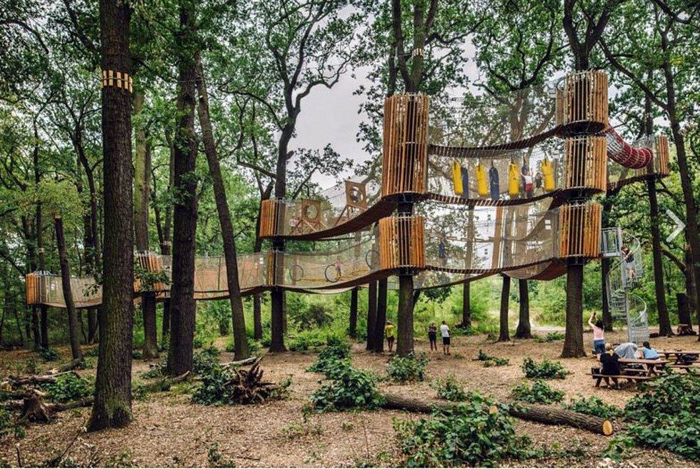 3D bludiště u hodonínské zoo