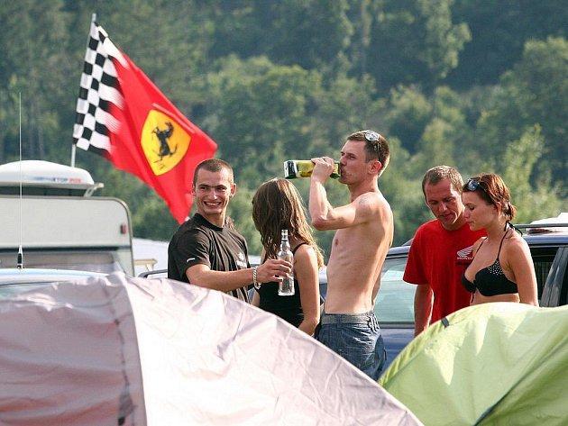 Návštěvníci brněnské Grand Prix