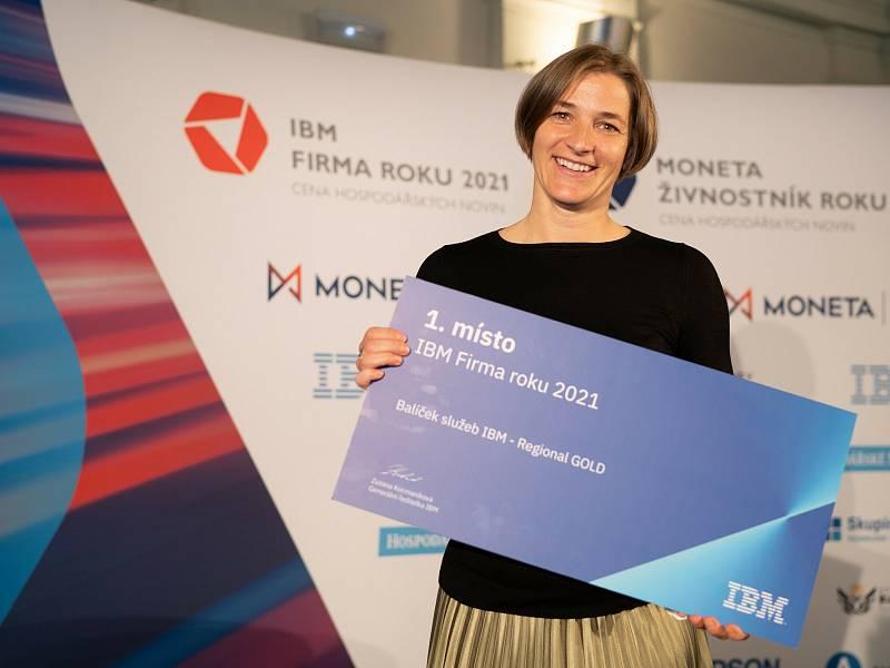 Provozní ředitelka vítězné firmy Phonexia Zuzana Roznosová.