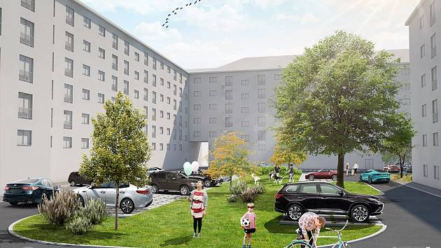 Obnova. Obyvatele žabovřeského vnitrobloku čeká nové parkování