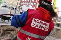 Nový stejnokroj dělníků pracujících pro Brno.