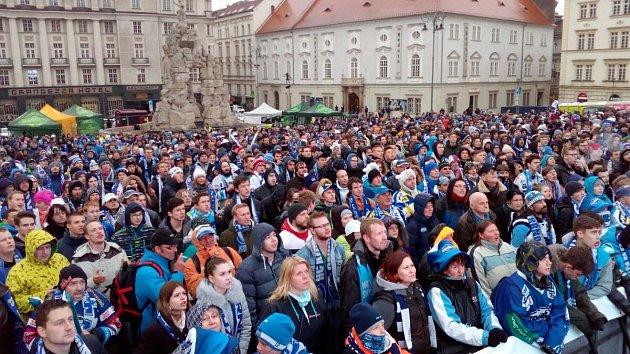 Kometa má titul! Brno se ponořilo do oslav, lidé se omlouvají z práce