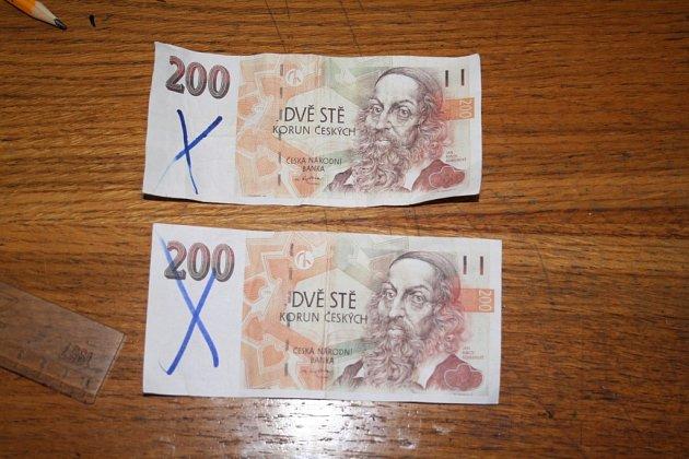 Padělané bankovky