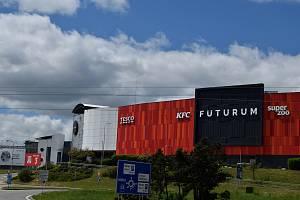 Obchodní centrum Futurum v Brně po roční rekonstrukci.