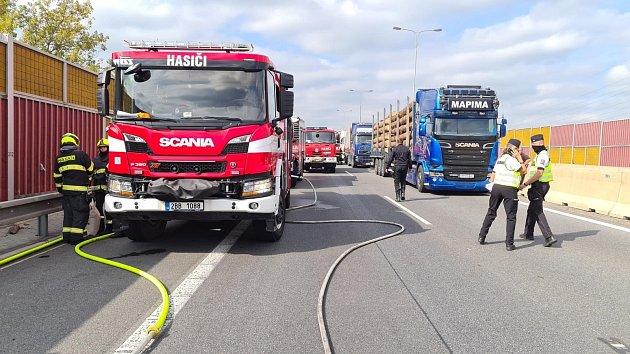 Tragická nehoda na dálnici D1 před Brnem
