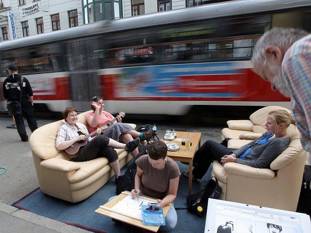 Pořadatelé akce Den města chtějí ukázat, že ulice jsou veřejný prostor a vrátit do nich život.