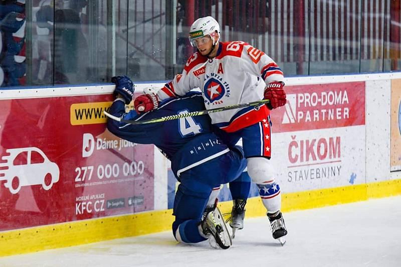 Hokejisté Komety v předčasně skončeném duelu remizovali s Třebíčí 3:3.