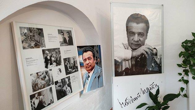 Na výletě do Ivančic nemohla chybět připomínka Vladimíra Menšíka.