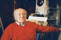 Malíř Rudolf Kundera.