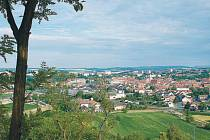 Pohled na Ivančice.