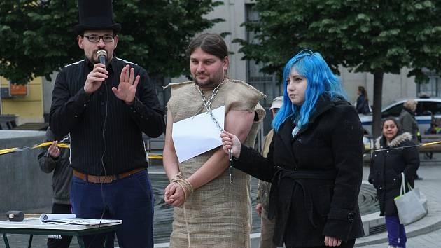 V centru Brna dražili otroky. Šlo o reakci na výstavu hospodářských zvířat