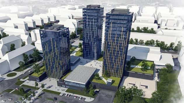 Budovy bývalého Cheposu v brněnské Šumavské ulici čeká další přestavba.