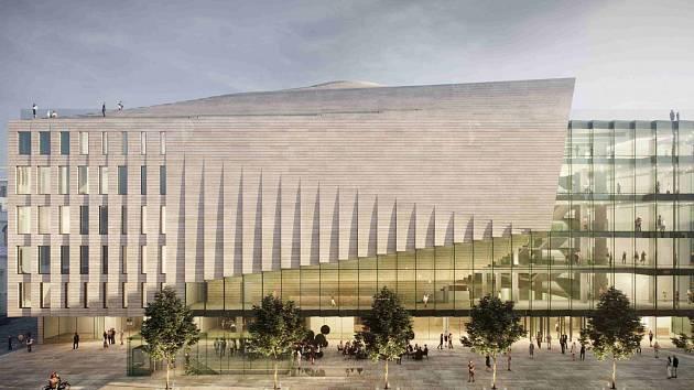 Hudební sál vznikne podle původního návrhu. Architekti stáhnou žalobu na město