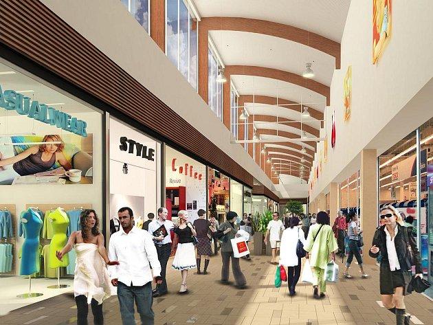 Nákupní centrum Avion Shopping Park v Brně.