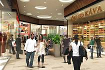 Nákupní centrum Avion Shopping Park po rekonstrukci.
