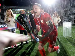 Finále Eura v malém fotbale mezi Českou republikou a Ruskem skončilo 1:1, následný penaltový rozstřel vyzněl 3:2 pro Rusko.