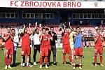 Zbrojovka Brno v červeném proti Třinci