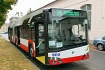 V prosinci přivezou do Brna nové trolejbusy Škoda Tr27.