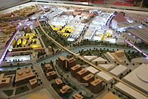 Model brněnského Jižního centra. Ilustrační foto.