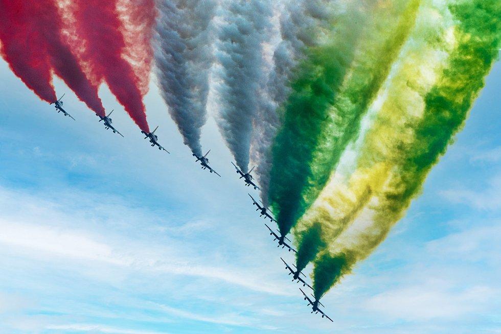 Po loňské přestávce se nadšenci letectví setkali na letišti, aby obdivovali mistrovskou pilotáž světové letecké elity v Malackách.