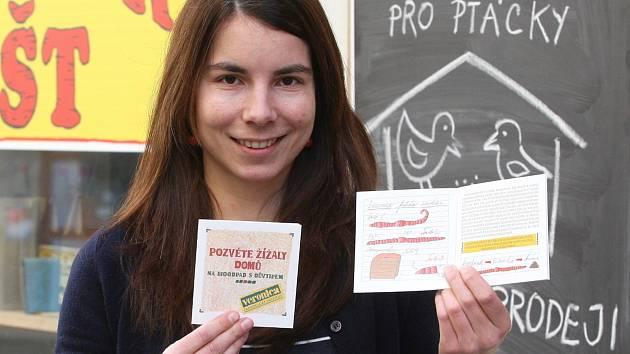Markéta Honzová z brněnského Ekologického institutu Veronica.