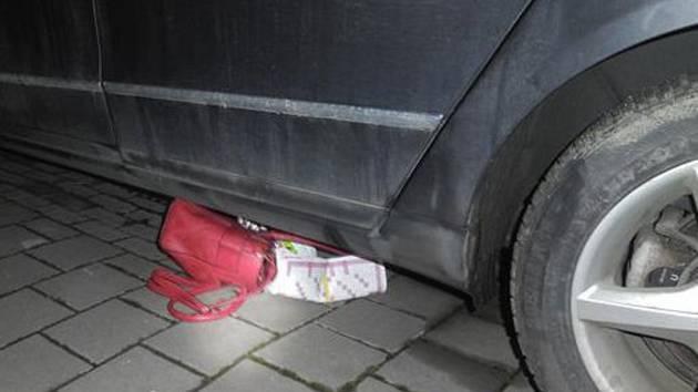 Strhl kabelku z ramene a utíkal pryč. Zloděje pomohli dopadnout kolemjdoucí