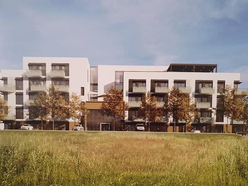 Nový domov důchodců v brněnské Bystrci.