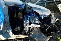 Tragické následky měla sobotní nehoda v brněnské Hradecké ulici. Krátce po šesté hodině ráno se tam srazila dvě osobní auta. Třiačtyřicetiletý muž svým zraněním na místě podlehl.