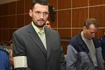 Členové Toflova gangu u soudu v Brně - Petr Křipský.