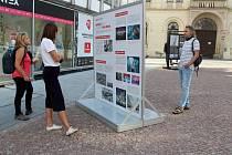 Vernisáž výstavy Kam kráčíš, Brno.