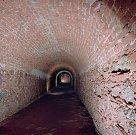 Tunel pod Běhounskou ulicí.