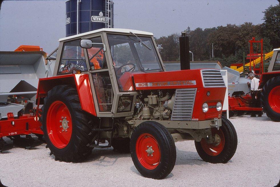 Zetor Crystal 8011 z roku 1969.