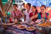 Především mladé lidi a rodiny s dětmi přilákal v sobotu do areálu brněnské Mrazírny Rovner festival jídla s názvem Industra Food Fest. Profesionálové i amatéři v oboru gastronomie nabízeli na šedesáti stáncích tradiční lahůdky i exotické speciality.