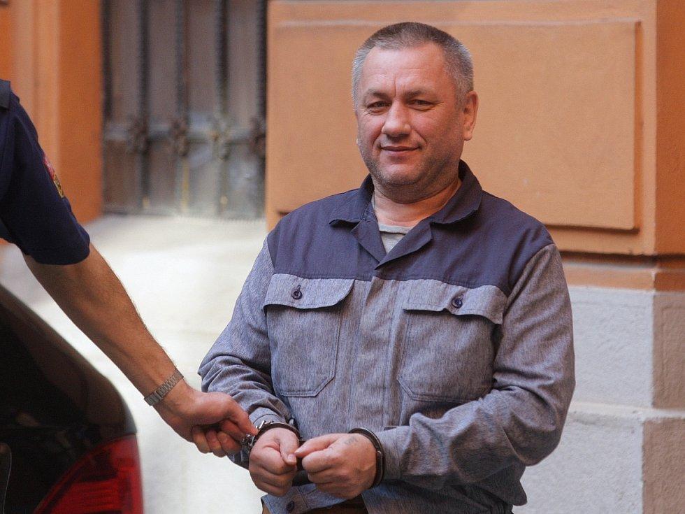 Obžalovaná rodina z Ukrajiny u Krajského soudu v Brně.