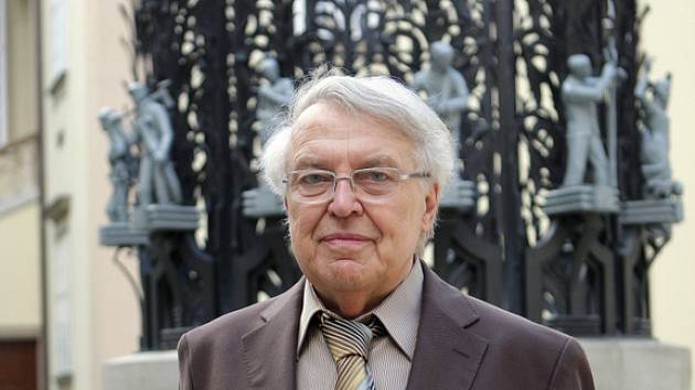 Spisovatel Pavel Kohout.